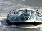 超酷 形似太空飞船的未来世界水上巴士