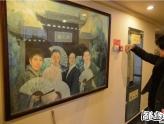 《新四大美男图》被砸 刘翔陈光标为画中人